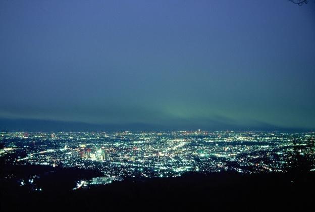 高尾山からの夜景