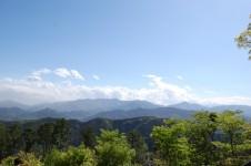 高尾山山頂展望台