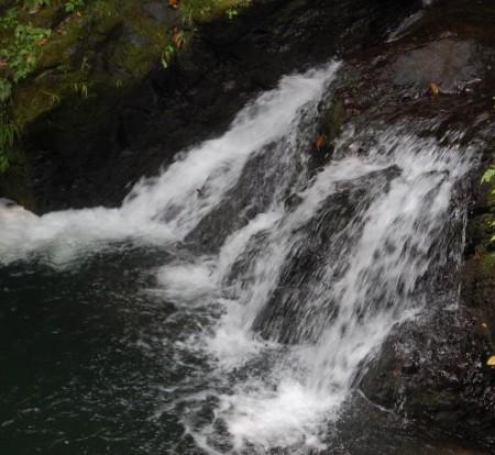 蛇滝コースの滝