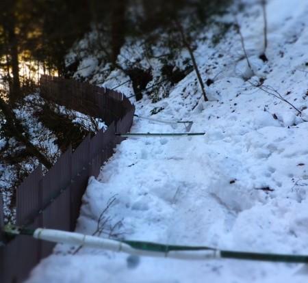 大雪の高尾山
