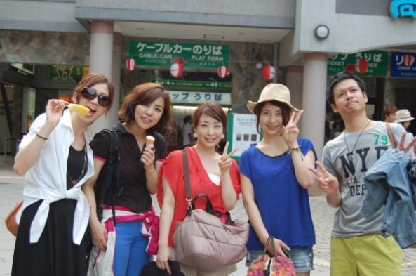 美男美女の5人組